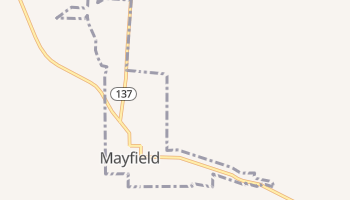 Mayfield, Utah map