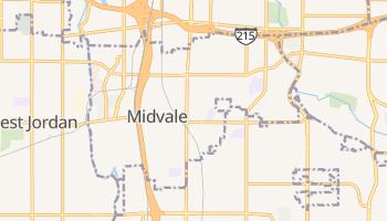 Midvale, Utah map