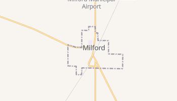 Milford, Utah map