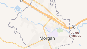 Morgan, Utah map