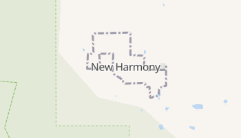 New Harmony, Utah map