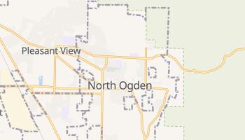 North Ogden, Utah map