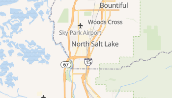 North Salt Lake, Utah map