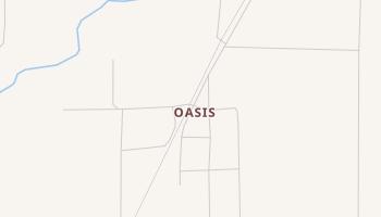 Oasis, Utah map