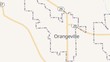 Orangeville, Utah map