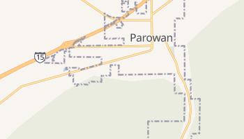 Parowan, Utah map