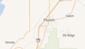 Payson, Utah map