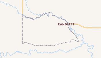 Randlett, Utah map