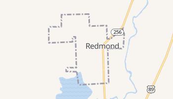 Redmond, Utah map