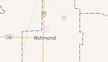 Richmond, Utah map