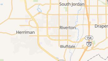 Riverton, Utah map