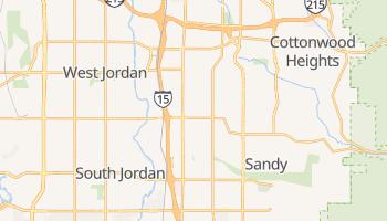 Sandy City, Utah map