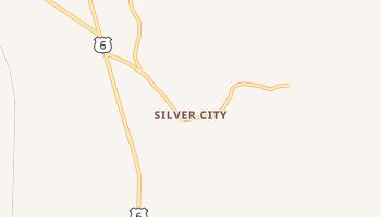 Silver City, Utah map