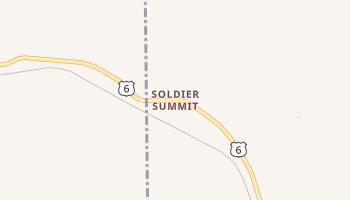 Soldier Summit, Utah map