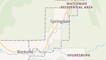 Springdale, Utah map