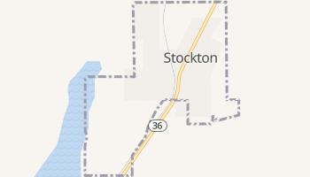 Stockton, Utah map
