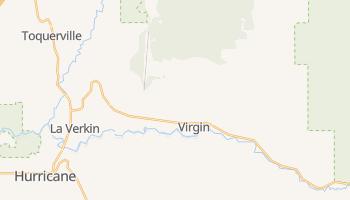 Virgin, Utah map