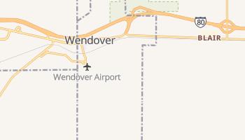 Wendover, Utah map