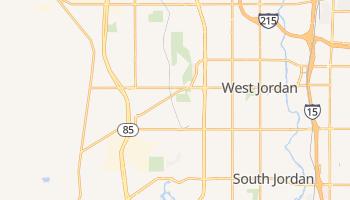 West Jordan, Utah map