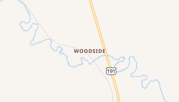 Woodside, Utah map