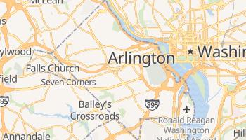 Arlington, Virginia map