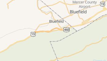 Bluefield, Virginia map