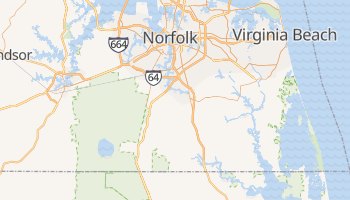 Chesapeake, Virginia map