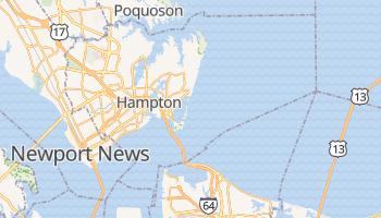 Hampton, Virginia map