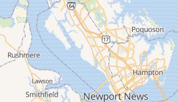 Newport News, Virginia map