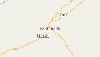 Paint Bank, Virginia map