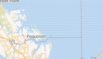 Poquoson, Virginia map