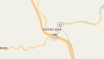Rocky Gap, Virginia map