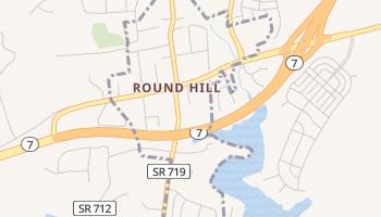 Round Hill, Virginia map