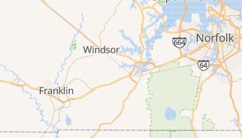 Suffolk, Virginia map