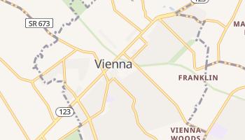 Vienna, Virginia map