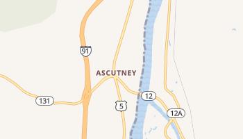 Ascutney, Vermont map