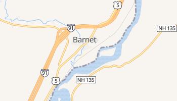 Barnet, Vermont map