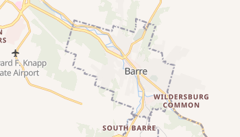 Barre, Vermont map
