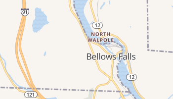 Bellows Falls, Vermont map