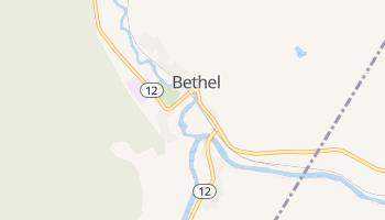 Bethel, Vermont map
