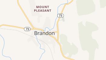 Brandon, Vermont map