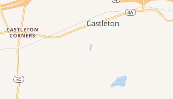 Castleton, Vermont map
