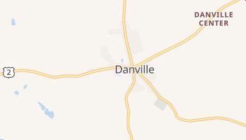 Danville, Vermont map