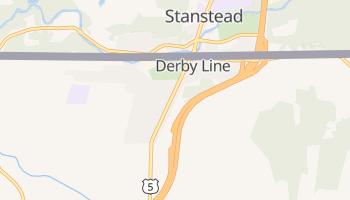 Derby Line, Vermont map