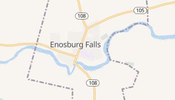 Enosburg Falls, Vermont map