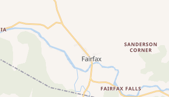 Fairfax, Vermont map