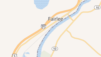 Fairlee, Vermont map