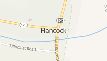 Hancock, Vermont map