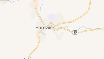 Hardwick, Vermont map