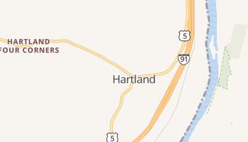 Hartland, Vermont map